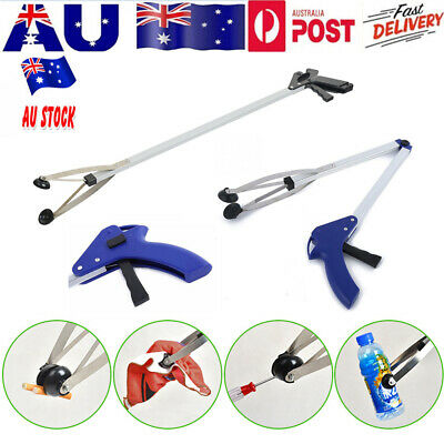 Aluminum Grabber Claw Reacher Gripper Foldable Extend Trash Rubbish Pick Up Tool