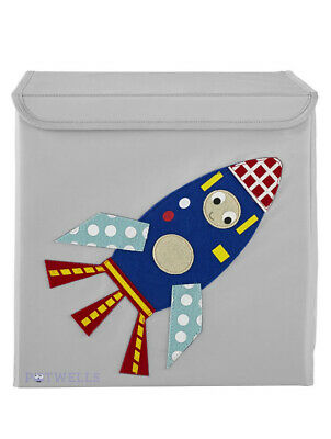 Space Rocket Storage Box