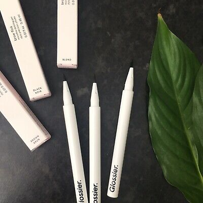 Glossier Brow Flick Microfine Detailing Pen 0.48ml WORLDWIDE SHIPPING