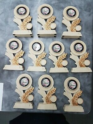 10 x  170mm Netball Trophies Discontinued Range. Other Quantities available