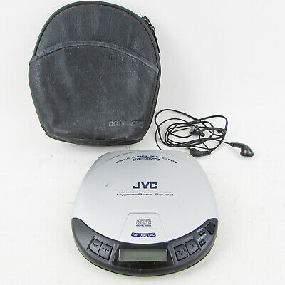 JVC Portable CD Player XL-P54CR Discman Shock Protection Hyper Bass walkman