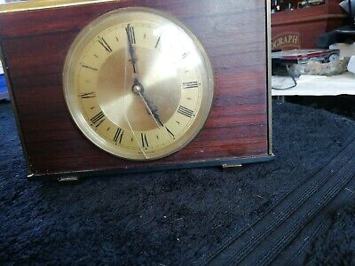 Vintage metamec mantle clock electric retro made in England