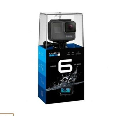 GoPro HERO 6 Waterproof 4K Action Camera - Black (*with 128gb sd* please read)