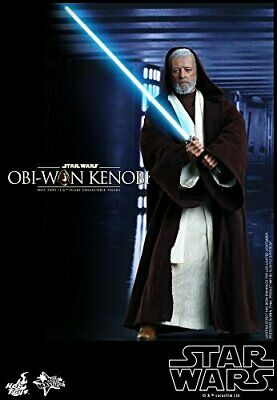 Movie Masterpiece STAR WARS Episode 4 OBI-WAN KENOBI 1/6 Action Figure Hot Toys