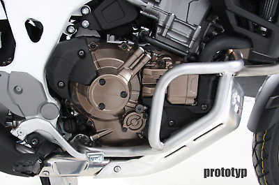 Honda Africa Twin Adventure Sport 2018-  Engine Protection Bar - Stainless Steel