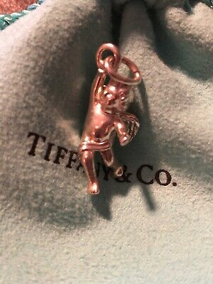 d8f4a6fcd RARE* RETIRED TIFFANY & CO. 14k Gold Miniature Whistle Charm With ...