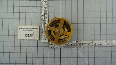 Chain Gear Hubert Herr Clockwork Zaandam Clock Time Side