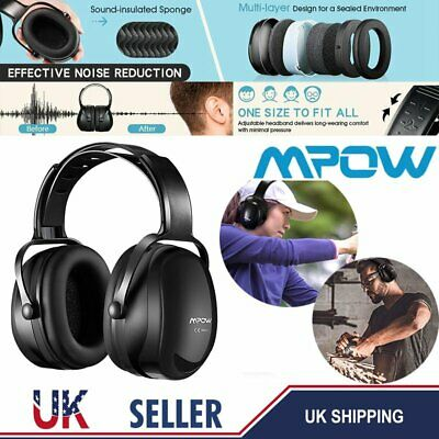 Mpow Ear Defenders With Adjustable Head Band 36db Noise Reduce Protecter Hunting