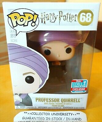 Funko Pop Professor Quirrell Harry Potter Fall Convention Nycc Con Fye * New *