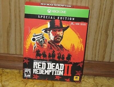 XBOX ONE - RED DEAD REDEMPTION 2 SPECIAL EDITION (Brand NEW Sealed) FREE ship