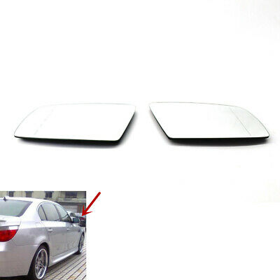1Pc ReView Split Mirror Heated White Glass Left fit for BMW E46 99-05 4-Door NEW