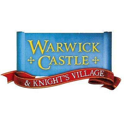 2  Warwick Castle Tickets - 9 Sun Savers Codes Pick Up Your Own Date