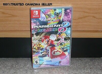 Nintendo SWITCH - MARIO KART 8 DELUXE (Brand NEW Sealed) FREE Ship USA