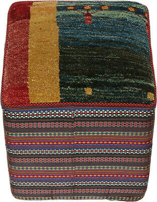 Hocker Pouf Kissen Cushion Möbel Teppich Rug Carpet Orient Perser Art Zollanvari
