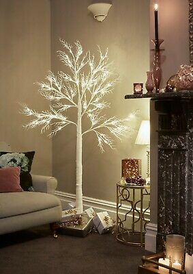 Jaymark Products Pre lit LED White Deadwood Artificial Christmas Easter Tree