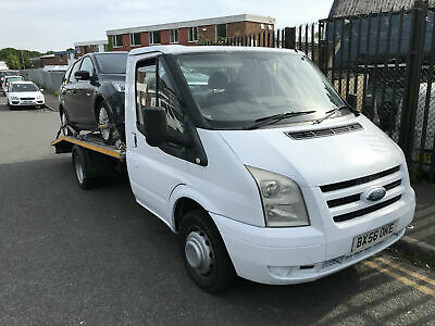 2007 Ford Transit 2.4TDCi 100PS 350 MWB RECOVERY TRUCK WINCH RAMPS NEW MOT