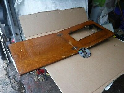 VINTAGE SINGER SEWING MACHINE  TABLE /  CABINET  TOP ONLY  (no base or machine).