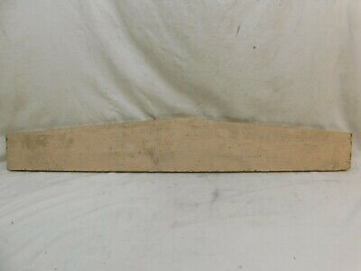 1890's Antique Wooden DOOR PEDIMENT Lintel Header VICTORIAN Style Fir ORNATE