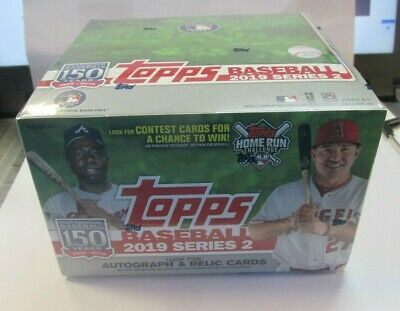 2019 Topps Series 2 Baseball Retail Box