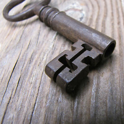 "Antique Safe / Strongbox Key 2 7/8"" Old"