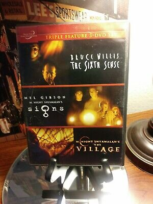 The Sixth Sense / Signs / The Village (Triple Feature 3 DVD Set) - Great Movies!