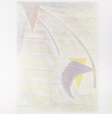 """Abstract Art Print Tom Holland """"Kuo"""" Signed Lithograph Limited Edition"""