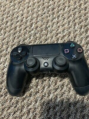 Official Sony PlayStation 4 PS4 Dualshock 4 Wireless Controller Jet Black Used