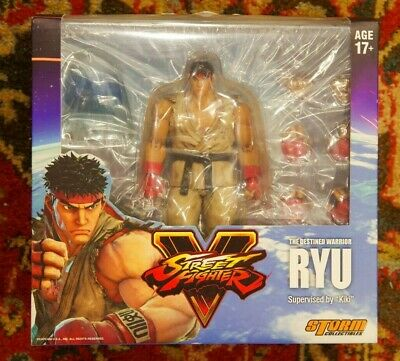 STORM Collectibles Street Fighter V RYU figure Authentic and Complete