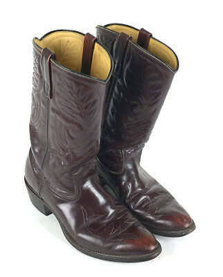 6ced4635eea VINTAGE MASON BOOTS Field And Stream Moc Toe 7.5D Men's Leather Made ...