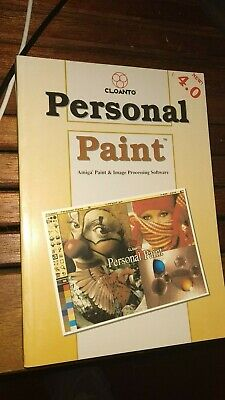 Manuale Cloanto Personal Paint 4.0 New  Eng.  (Amiga)