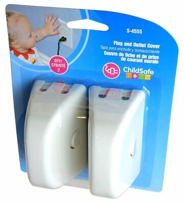 Dreambaby Type  Safety Outlet Cover Baby Proofing Prevent Electric Shock 2 pack