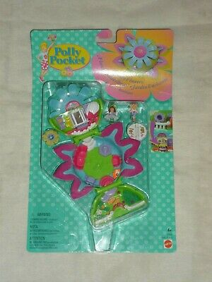 Vntg 1997 Mattel Polly Pocket Boutique Totally Flowers Dressmaker Playset Moc