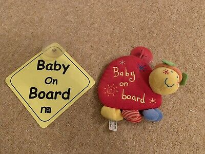 baby on board car signs