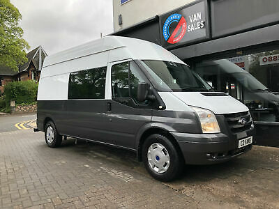 Ford Transit van 2.4TDCi mess unit welfare 6 seat camper white/metallic grey