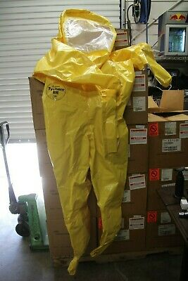 Dupont™ Tychem® BR Level B Encapsulated Suit 9000 series Yellow BR532  XL NEW