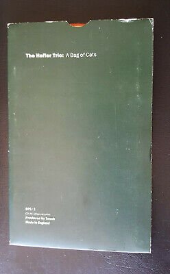 THE HAFLER TRIO A Bag Of Cats CD Art Wallet COIL Nurse With Wound AMBIENT TOUCH