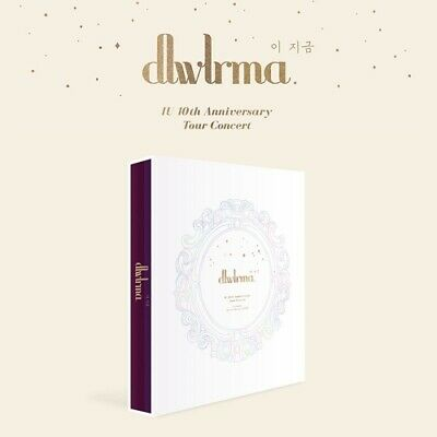 IU 10th Anniversary Tour Concert PHOTOBOOK with Special Blu-Ray & DVD SEALED