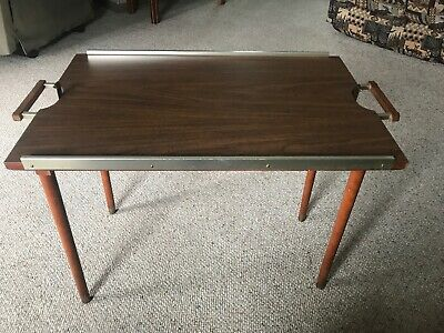 Vintage Scheibe Folding Tray Table
