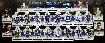 2017 UD Toronto Maple Leafs Centennial 25 Card Lot: SP Inserts and Die Cut