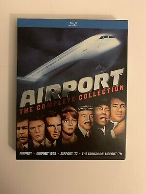 Airport: The Complete Collection (Blu-ray Disc 4-Disc Set) Disaster Film Classic