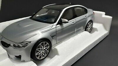 F80 Bmw 3-Series M3 Competition 2017 Silver NOREV 1:18 NV183235 Model