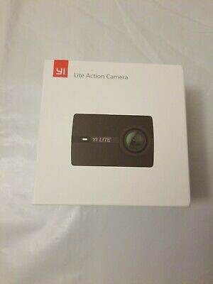 YI Lite Action Camera, Sony Sensor 16MP Real 4K Sports Camera 2 Inch Touchscreen