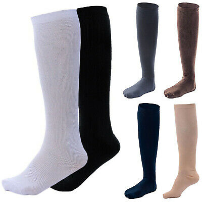 Women's Compression Socks Pain Relief Calf Leg Foot Support Sports Gym Stockings