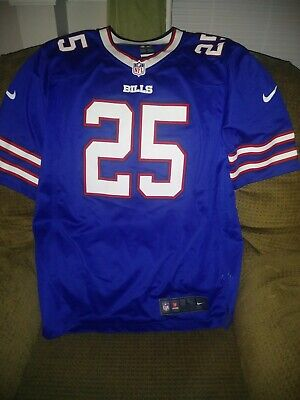 c7ae22520c7 NIKE LESEAN MCCOY Color Rush limited Red on field Edition Buffalo ...