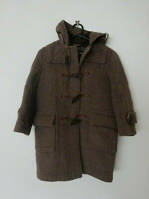 Vintage Childrens size 8 English Gloverall London WOOL Duffle Coat