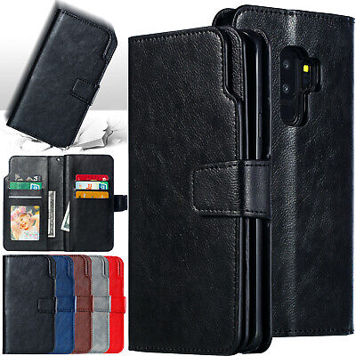 Fr Samsung S10 5G J2 Pro 2018 J5 J8 A5 A8 S9 Plus Case Wallet Leather Flip Cover