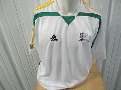 a91891b842c Vintage Adidas South Africa National Football Mens Team 2Xl Sewn Jersey  2005 Kit