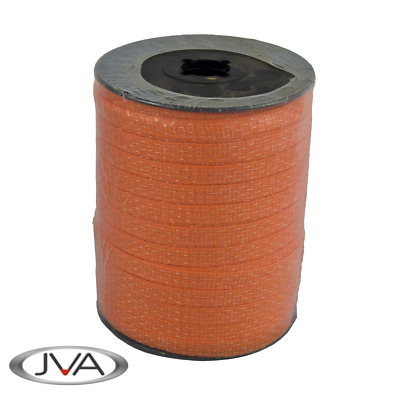 Electric Fence Politape / Poly Tape, 12mm width, 200m roll, Orange
