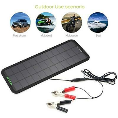 18V 7.5W Portable Solar Panel Power Battery Charger Trickle Maintainer Boat Car
