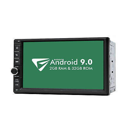 """7"""" Android 9.0 In Dash 2Din Car Radio Stereo GPS Player WiFi 4G DAB+ OBD2 DVR BT"""